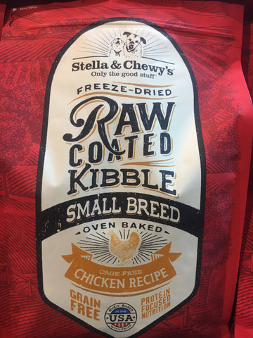 Stella & Chewy's Small Breed Raw Coated Chicken 10 Lbs.
