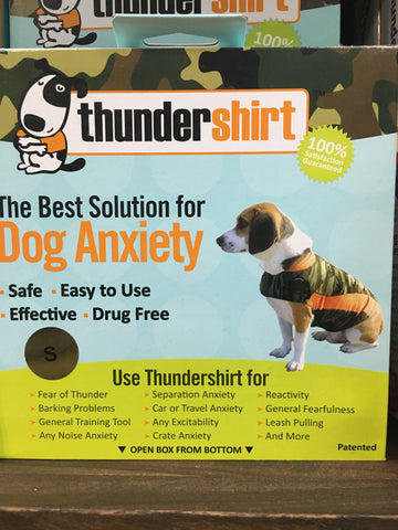 Thundershirt Dog Camo Polo Small