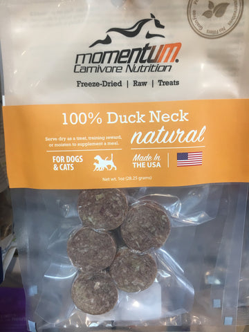 Momentum Carnivore Nutrition Duck Necks 1 oz.