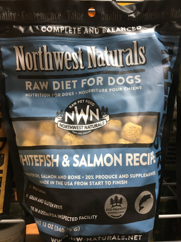 Northwest Naturals FD Whitefish & Salmon Nuggets 12oz.
