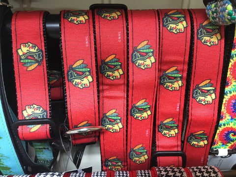 Chicago Blackhawks Dog Collar (Small)