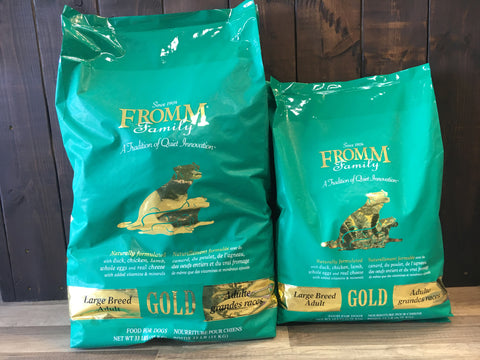 Fromm Dog Gold - Adult Large Breed 33 Lbs