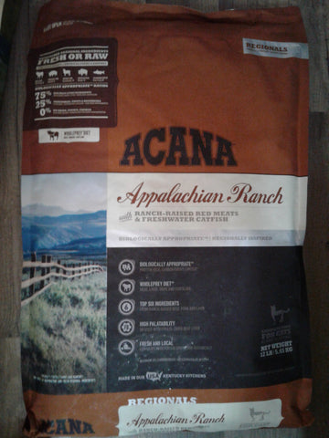 Acana Regionals Cat Appalachian Ranch 4#