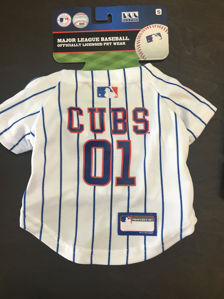 finest selection d9f5e 5a66e Chicago Cubs Dog Jersey Small