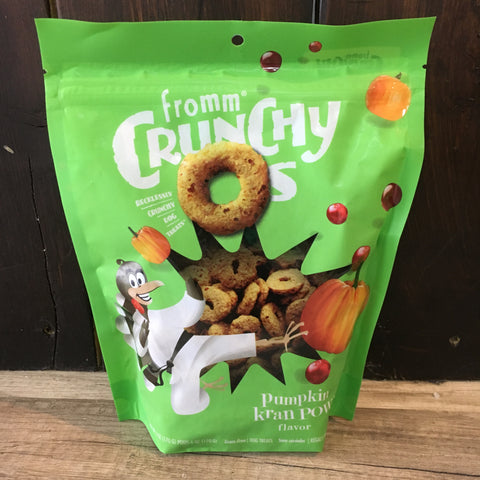 Fromm Pumpkin KranPOW Crunchy-O's Treat 6oz