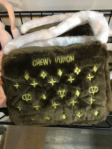 Chewy Vuitton Brown Bag Large
