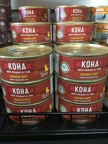 Koha Cat Grain Free Chicken 96% 5.5oz