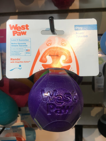 West Paw Rando Ball (Purple)