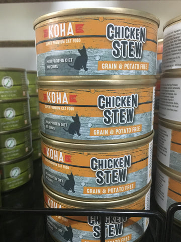Koha Cat Chicken Stew 5.5oz