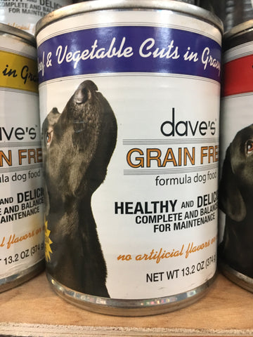 Dave's Pet Food Grain-Free Beef & Vegetables 13 oz