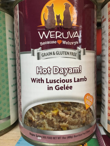 Weruva Dog GF Hot Dayam! can 14oz