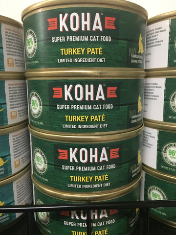 Koha Cat Grain Free Turkey 95% 5.5oz