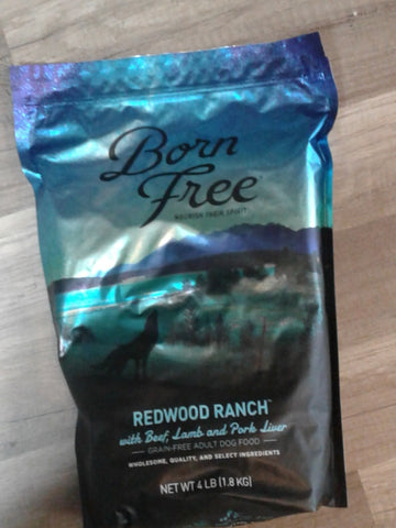 Born Free Dog Redwood Ranch 26lb