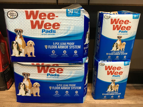 Four Paws Wee Wee Pads (50 Pack)