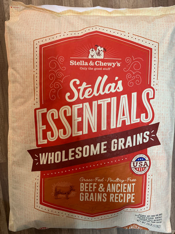 Stella & Chewy's Dog Beef & Ancient Grains 25 Lbs.