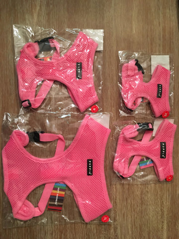 Puppia Soft Harness pink xs