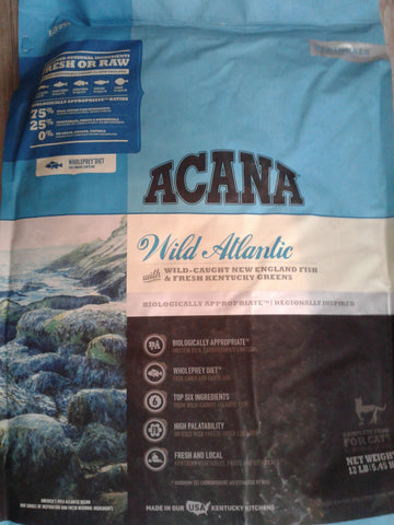 Acana Cat Wild Atlantic 10Lbs.