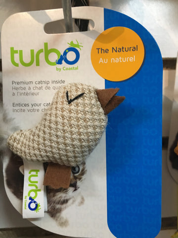Turbo Cat Toy Natural Bird