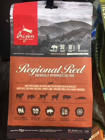 Orijen Cat Regional Red 12oz