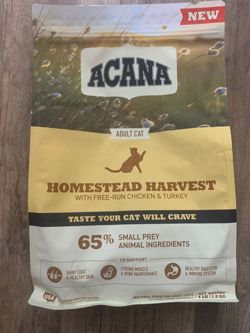 Acana Cat Homestead Harvest 4 Lbs.