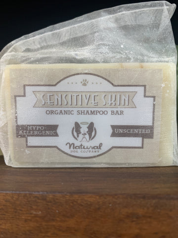 Natural Dog Company Sensitive Skin Soothing Shampoo Bar