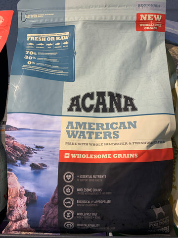 Acana Dog American Waters 22.5 Lbs. (+Grains)