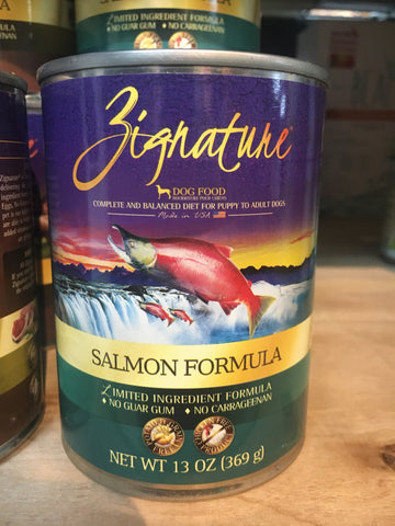 Zignature Salmon Can 13oz