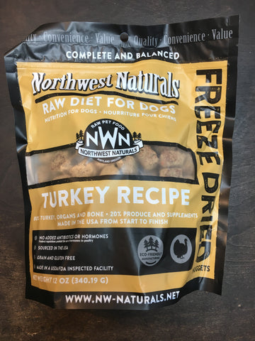 Northwest Naturals FD Turkey Nuggets 12oz.
