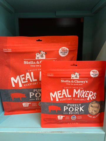 Stella & Chewy's Dog FD Meal Mixers Pork 3.5oz