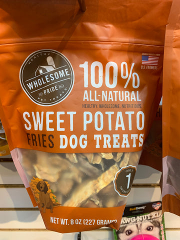 Wholesome Pets Sweet Potato Strips 8 oz.