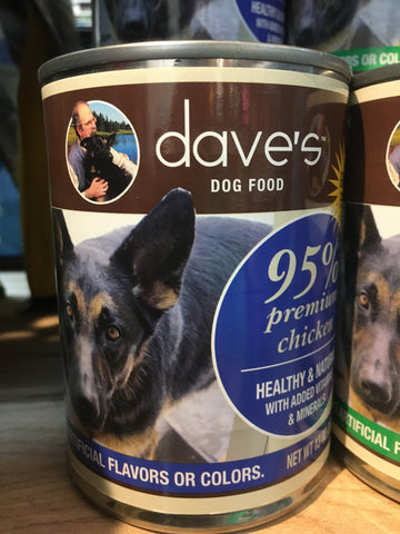 Dave's Pet Food 95% Premium Chicken 13 oz
