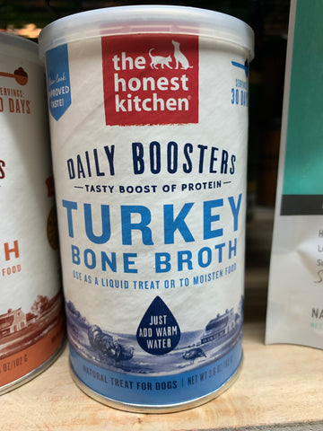 The Honest Kitchen Daily Boosts Instant Turkey Bone Broth 3.6oz