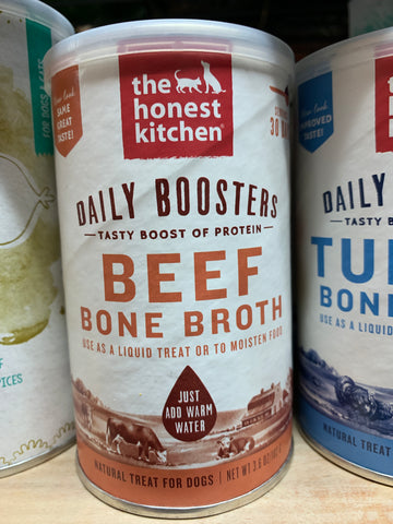 The Honest Kitchen Daily Boosts Instant Beef Bone Broth 3.6oz