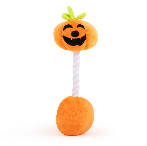 Pumpkin Plush & Knot chew toy