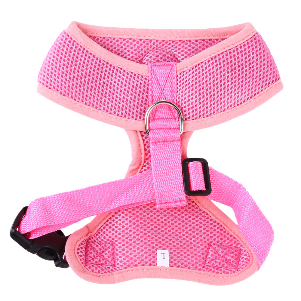 Soft Air Mesh Harness Vest Breathable Harness - Pets Club