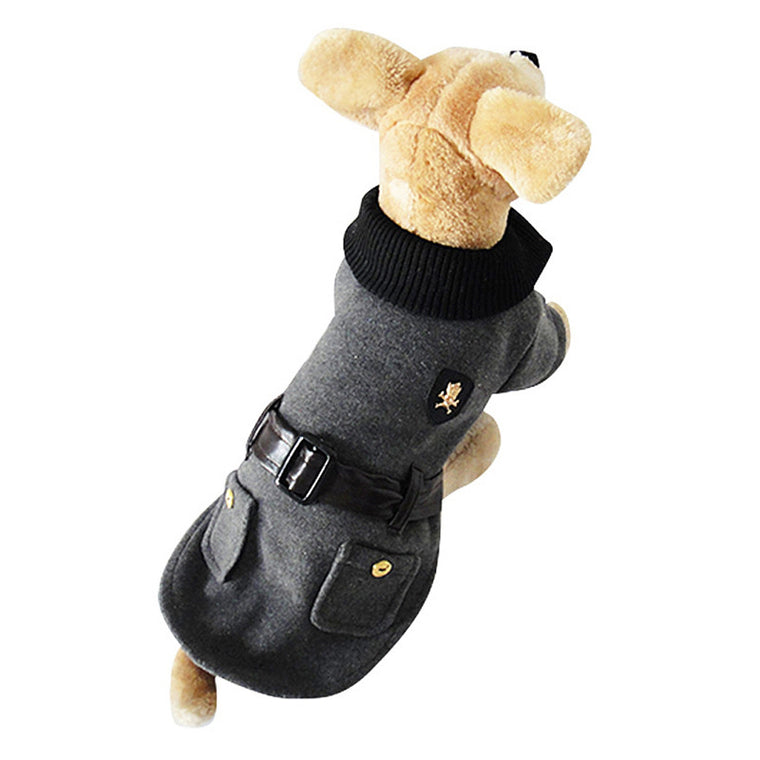 High Quality British Style Small Pet Winter Clothes - Pets Club