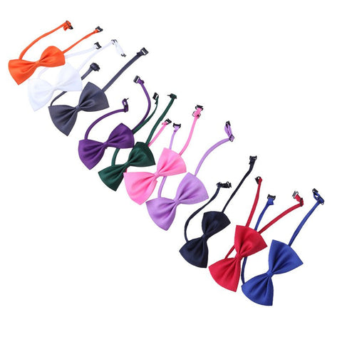 10PCS !!!! Adjustable Bow tie Multi Colors for Dogs & Cats - Pets Club