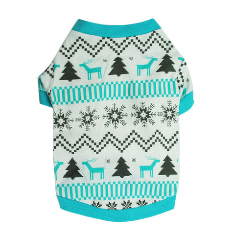 Christmas Snow Flak Sweater - Pets Club