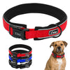 Reflective Thick Padded Nylon Dog Collar - Pets Club