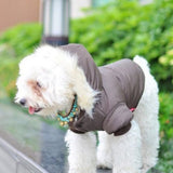 Winter Warm Snowflake Both Sides Coat - Pets Club