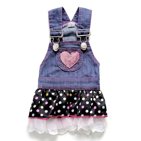 Dog Jeans Dress - Pets Club