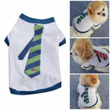 Dogs Tie T-Shirt - Pets Club