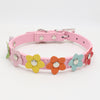 Flower Print Dog Collar - Pets Club