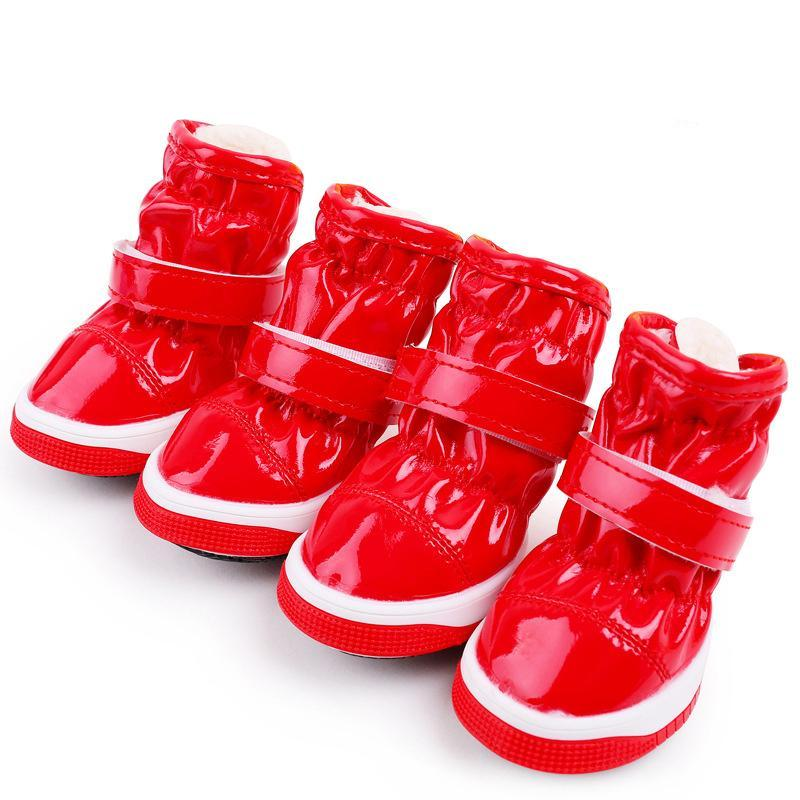 4pcs/set Waterproof Dog Shoes - Pets Club