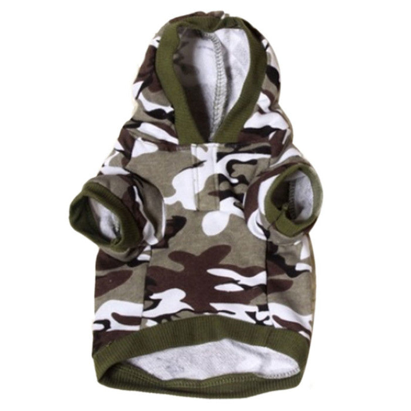 Army Sweatshirt for Dogs - Pets Club