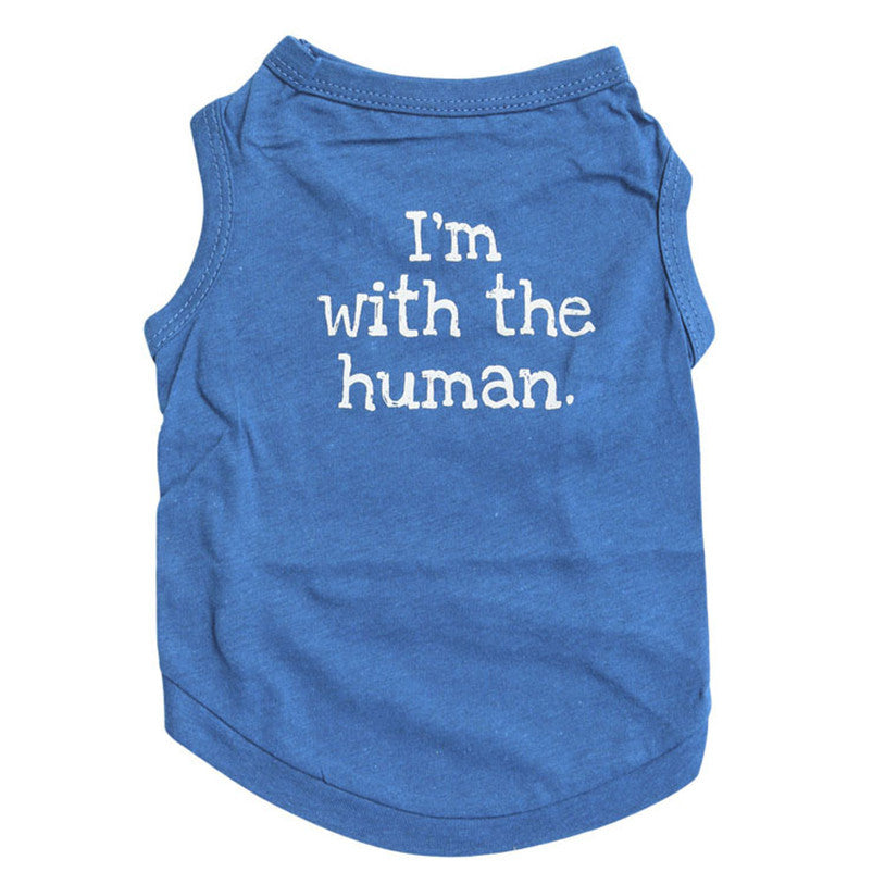 I'm With The Human T-Shirt - Pets Club
