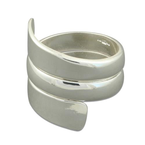 Broad spiral taper ring