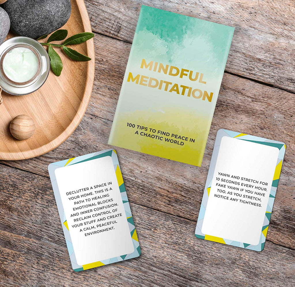 Mindfulness Meditation Cards