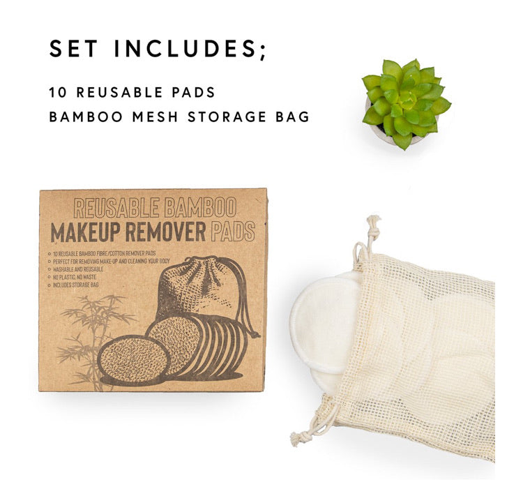 Reusable make up remover pads