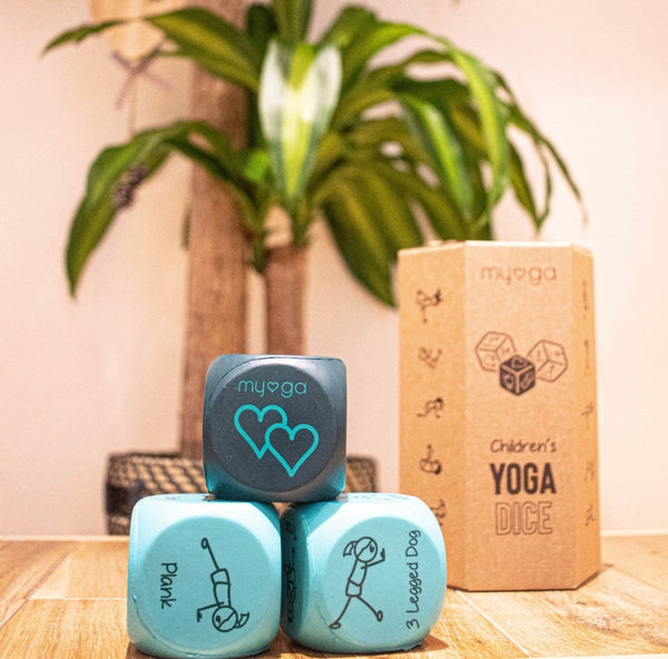 Kid Yoga Dice